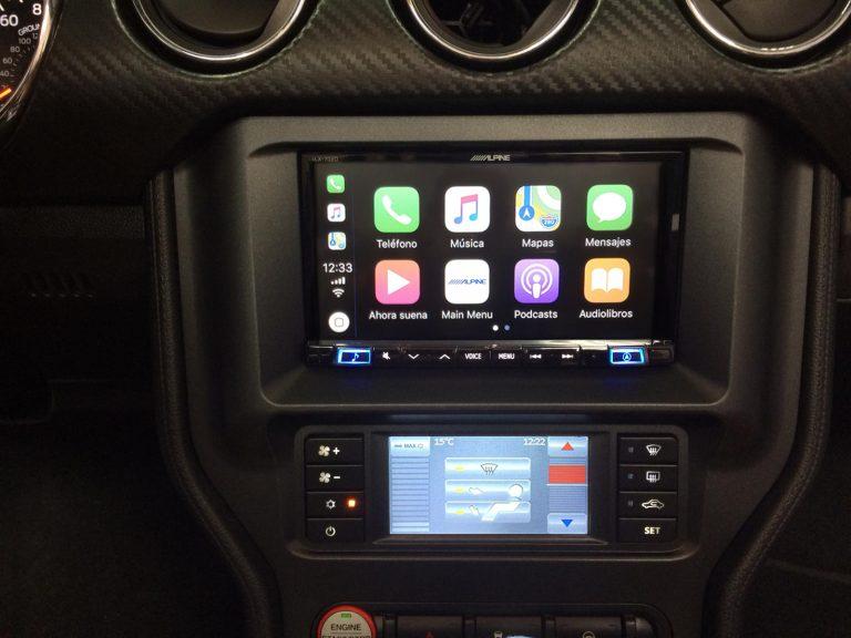 CarPlay en Ford Mustang