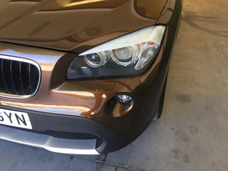 Reequipación pilotos en BMW X1