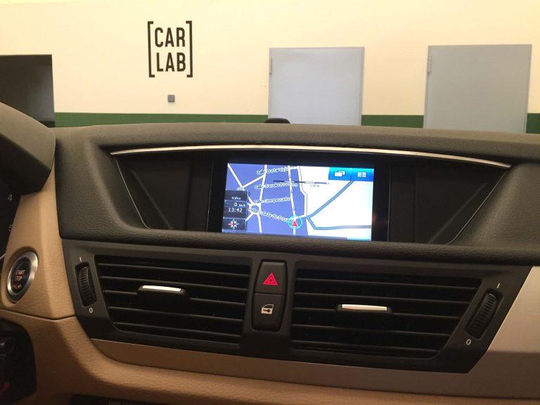 navegador en BMW X1