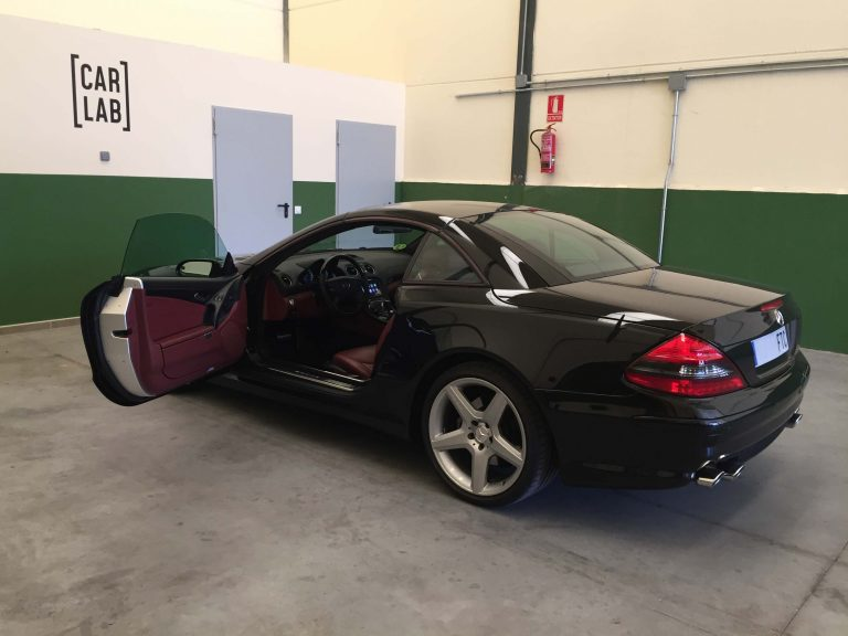 CarPlay en Mercedes SL
