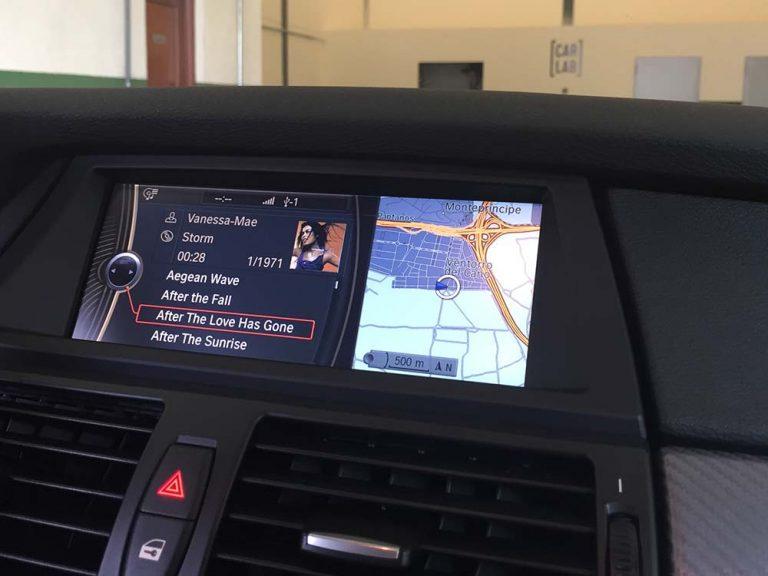 BMW X6 CIC pantalla media