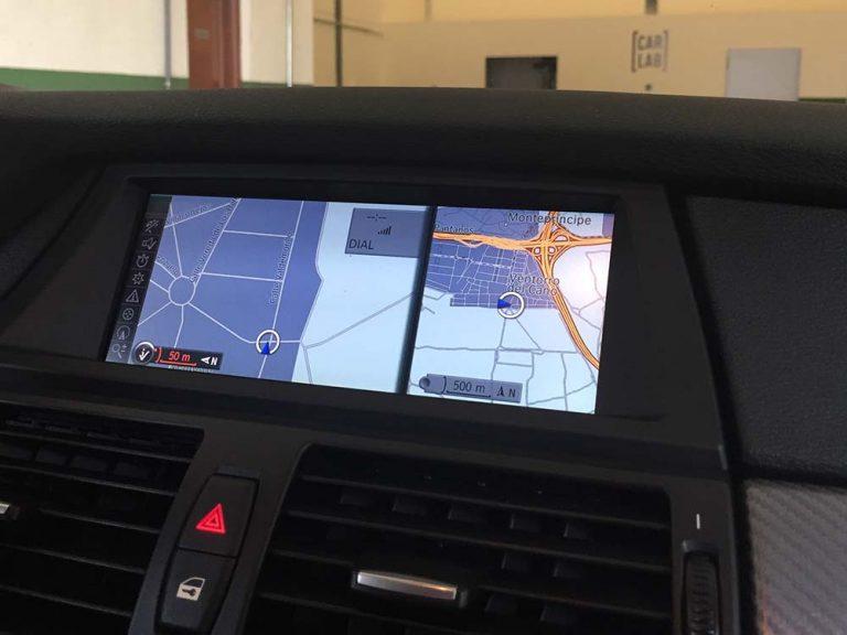 BMW X6 CIC pantalla navegación