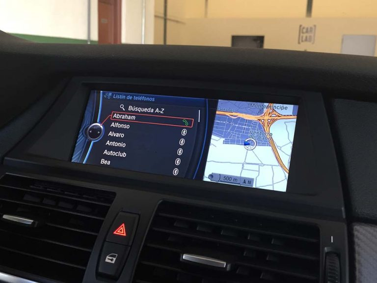 BMW X6 NAVEGADOR CIC CONTACTOS