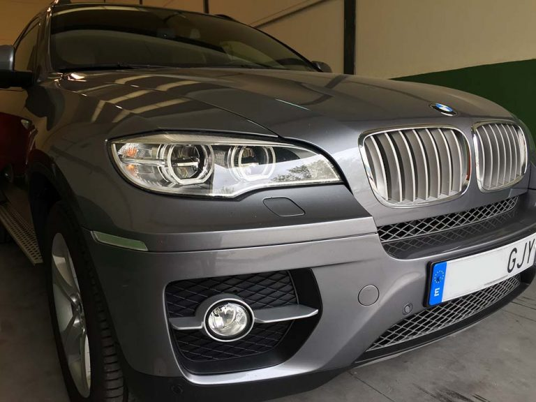 BMW X6 retrofit iluminación faros Ful LED