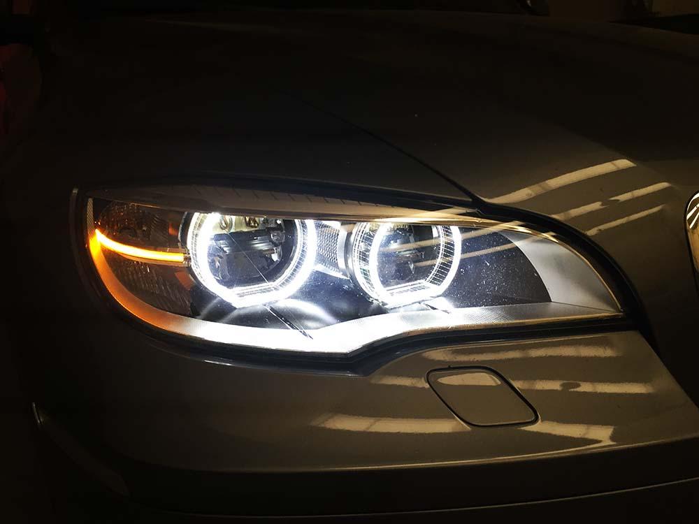 BMW X6 faros delateros FULL LED