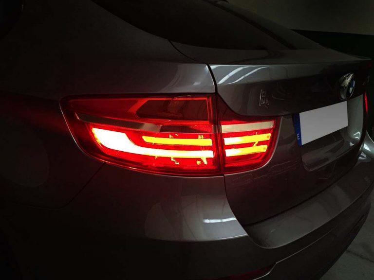 BMW X6 faros traseros LCI