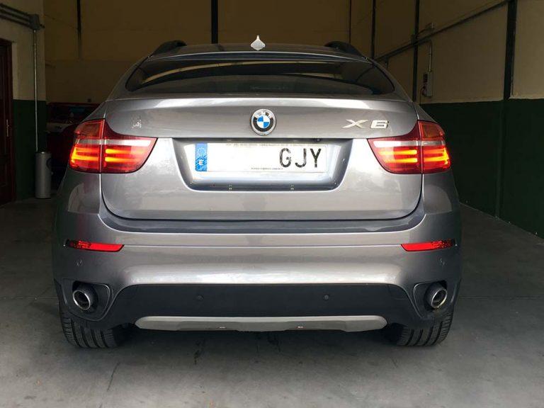 BMW X6 retrofit iluminación faros LCI