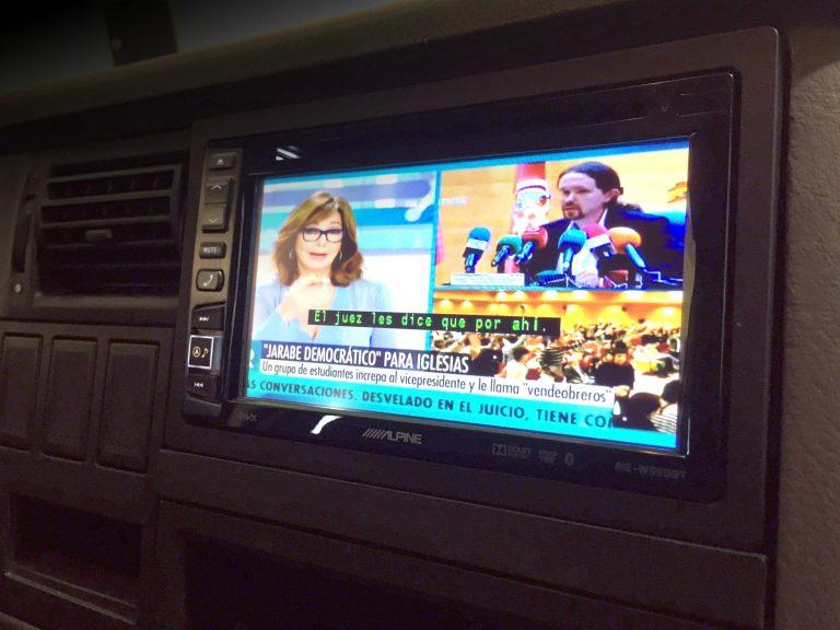 multimedia con TV Volkswagen T4
