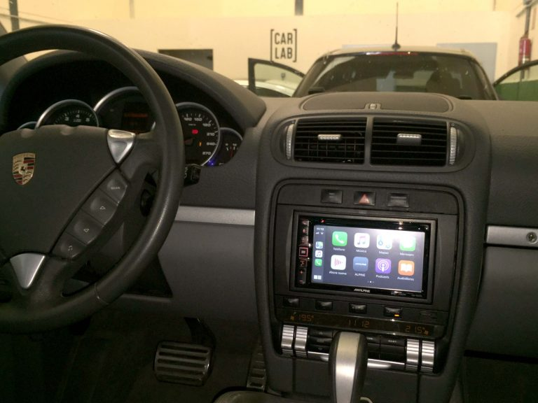 CarPlay en Porsche Cayenne