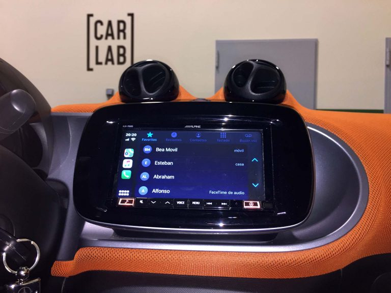 Apple CarPlay en Smart